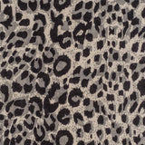 Leopard Print Cashmere Ring Shawl