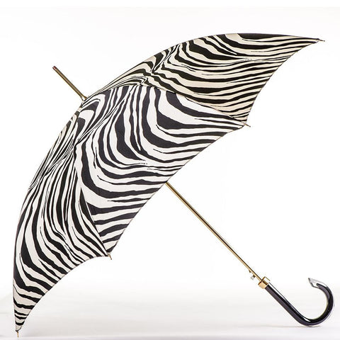 Zebra Print Italian Luxury Umbrella