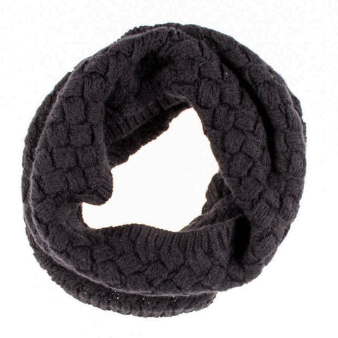 Black Cashmere Snood