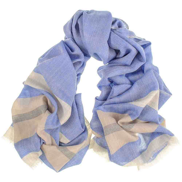 Minster Merino Wool and Silk Scarf