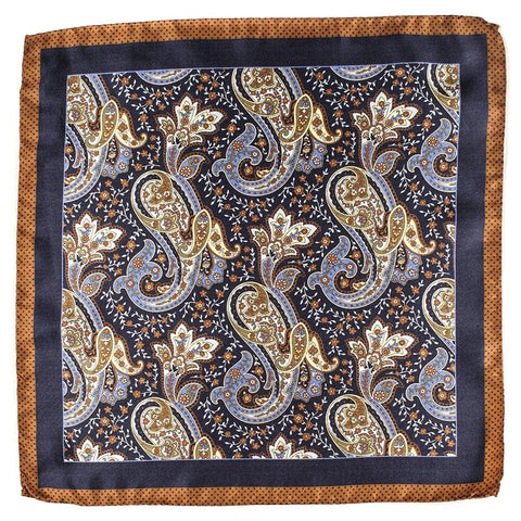 Milano Italian Silk Pocket Square