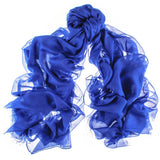 Lapis Blue Modal and Cashmere Shawl