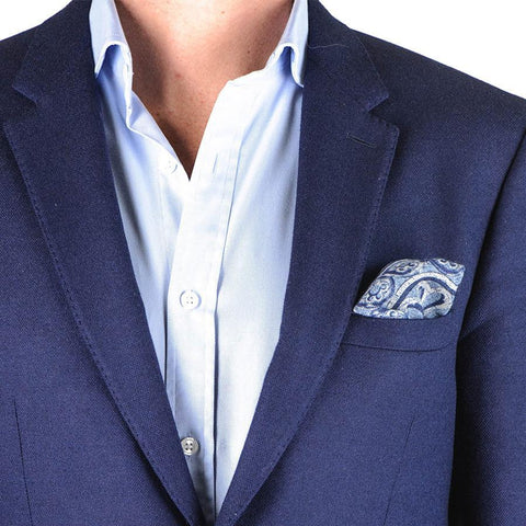 Style Guide 3 Ways To Fold A Pocket Square Black Co Uk