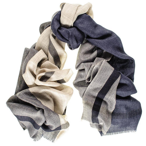 Mayfair Merino Wool and Silk Scarf
