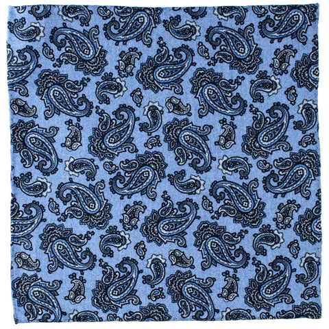 Saltara Italian Cotton Pocket Square