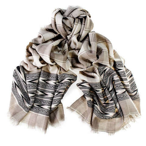 Malana Himalayan Cashmere and Wool Scarf