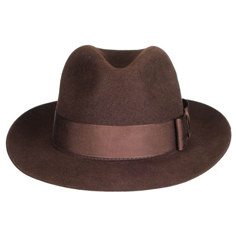 Kensington - Brown Fur Felt Fedora