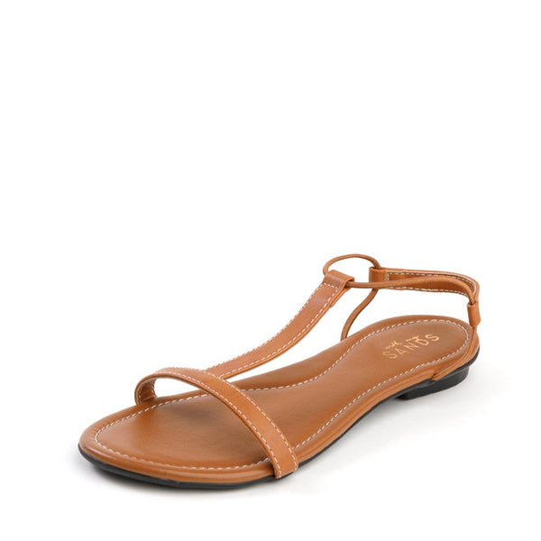 Tan Classic Leather Sandals