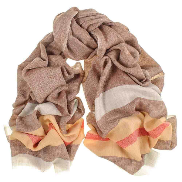 Chancery Merino Wool and Silk Scarf