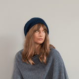 Grey Cashmere Beret