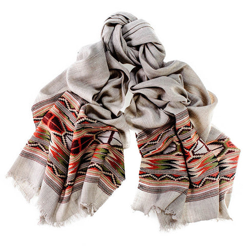 Shimla Himalayan Cashmere and Wool Scarf