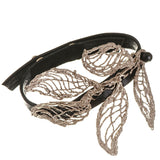 Electra Bronze and Leather Bracelet