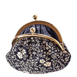 Beige Lacquer Deerskin Coin Purse