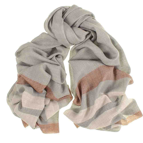 Dorset Merino Wool and Silk Scarf