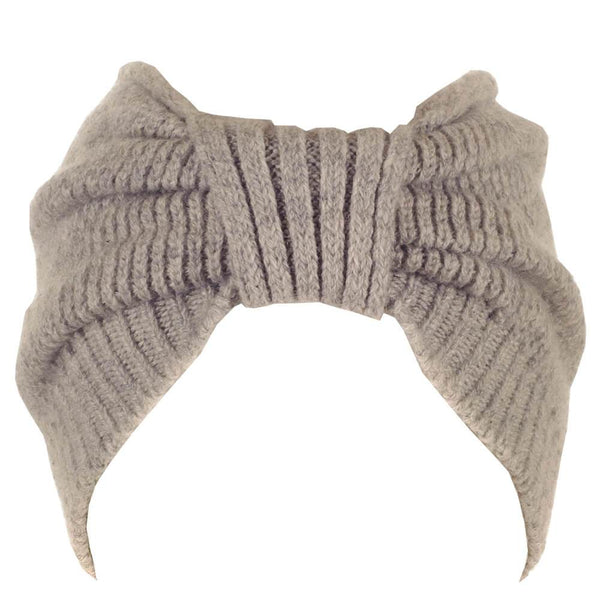Grey Cashmere Headband