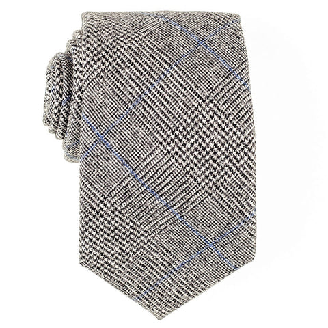 Prince of Wales Check Wool Tie - SOLD OUT