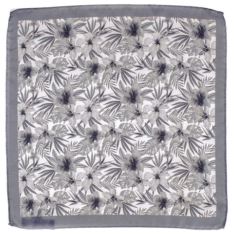 Delio Italian Silk Pocket Square