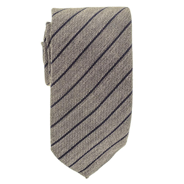 City Pinstripe Italian Silk and Wool Tie