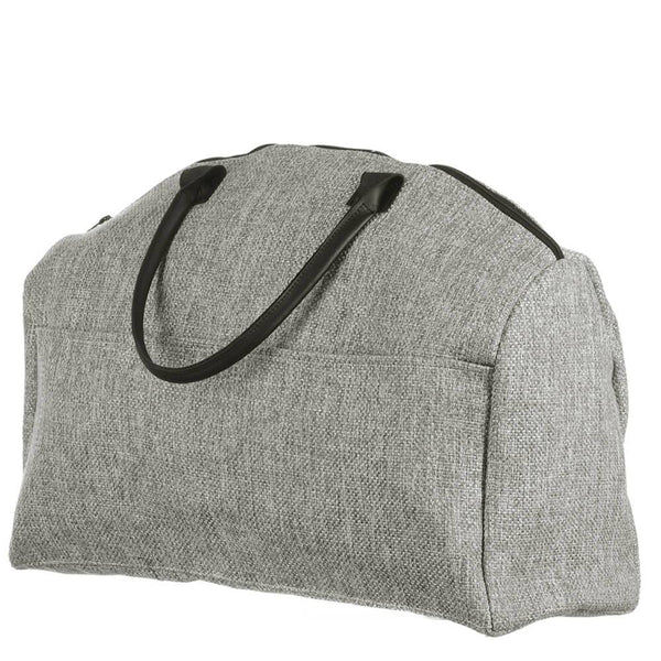 Men's Grey Tweed Weekend Bag