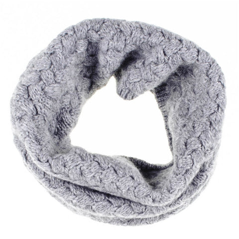 Warm Grey Cashmere Snood