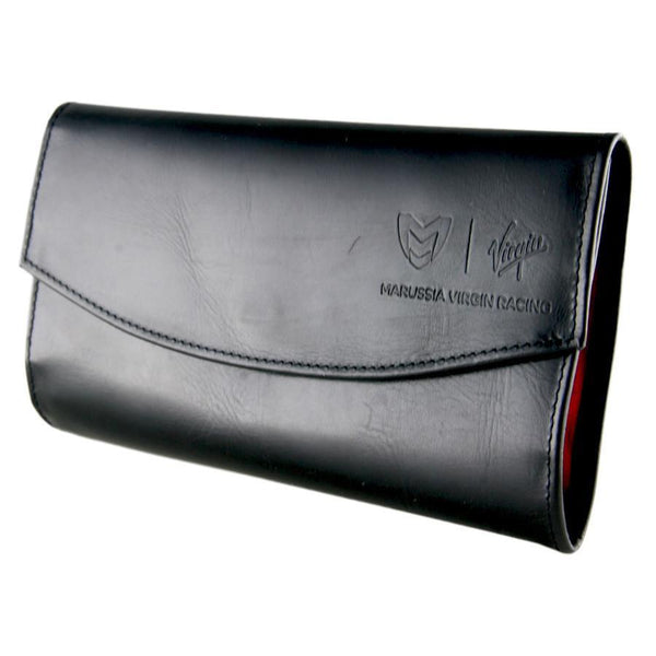 Corporate Branded Leather Jewellery Roll