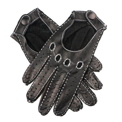Ladies' Kid Leather Handstitched Driving Gloves