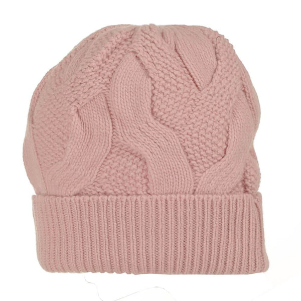 Orchid Pink Cashmere Beanie Hat