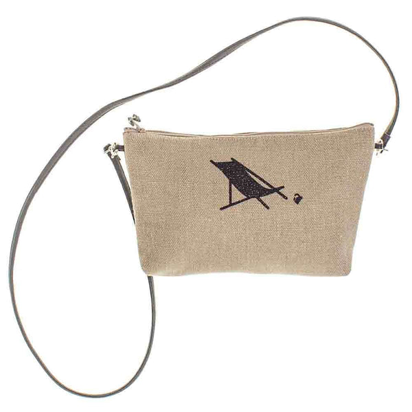 Biarritz Linen Shoulder Bag