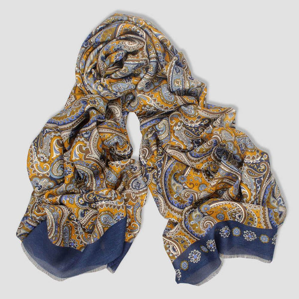Lucius Fine Italian Cashmere and Wool Scarf