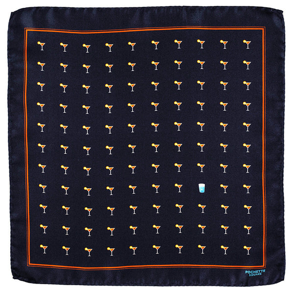 'The Hangover' Italian Silk Pocket Square