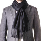 Burlington Black Cashmere Scarf