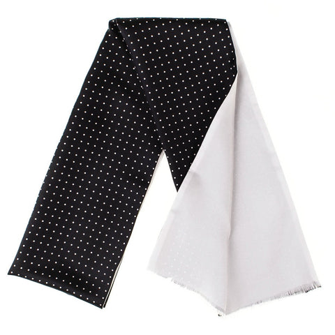 Barletta - Spotted Silk Dress Scarf