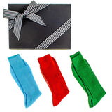 Bright Egyptian Cotton Lisle Socks Gift Set