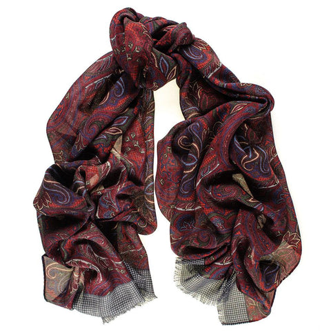 Petrella Wool and Silk Scarf