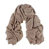 Oversize Cashmere Scarf and Reversible Cashmere Beanie Gift Set