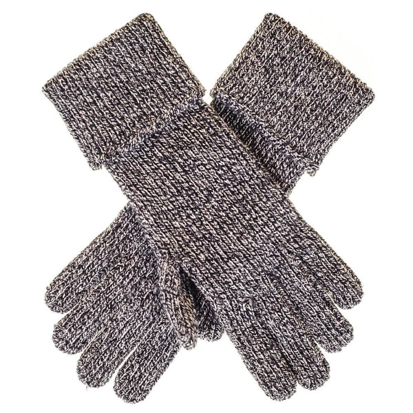 Men's Grey Marl Cashmere Gloves