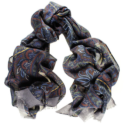 Catria Wool and Silk Scarf