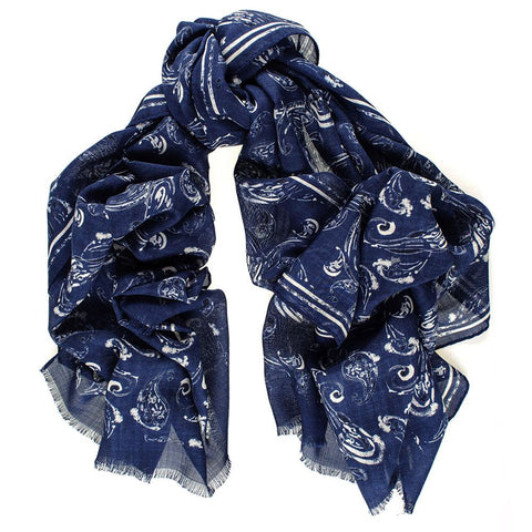 Sabatini Wool and Silk Scarf