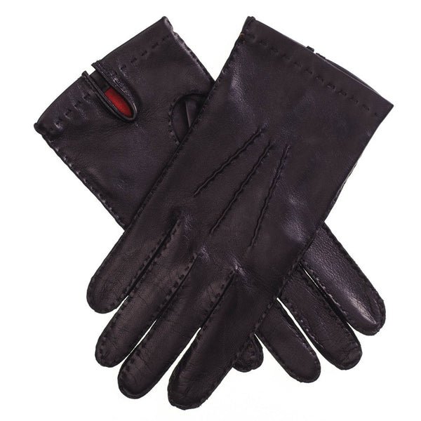 Men's Silk-Lined Leather Gloves