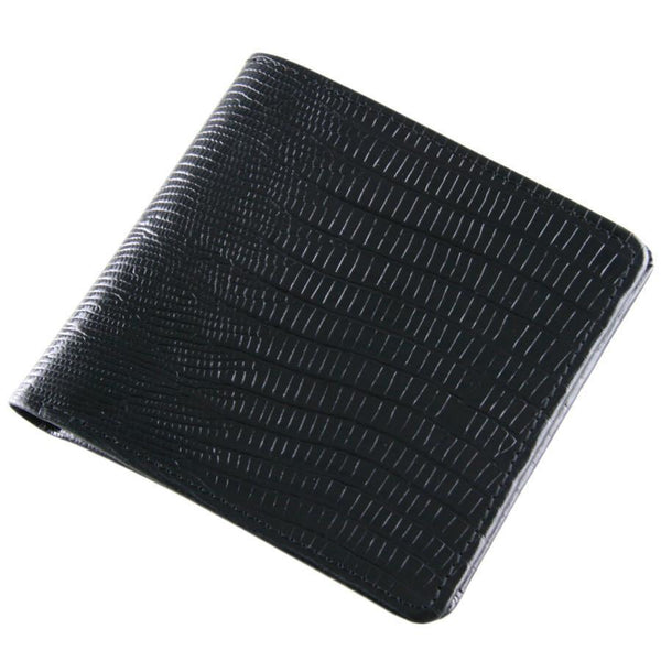 Corporate Branded Black Leather Wallet