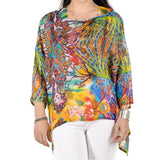 Ganesh Silk Kaftan Top