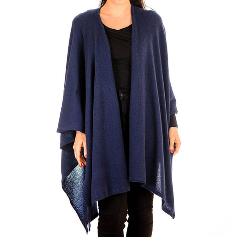 Midnight Navy Cashmere Coatigan