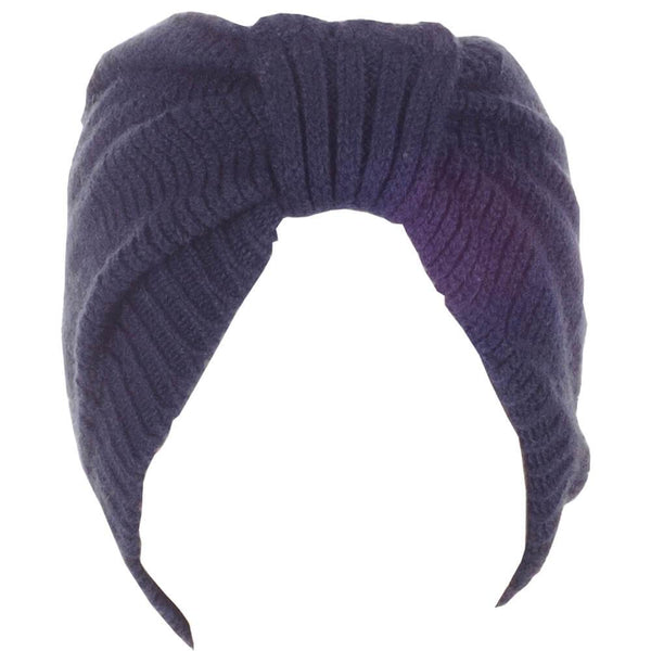 Navy Cashmere Headband
