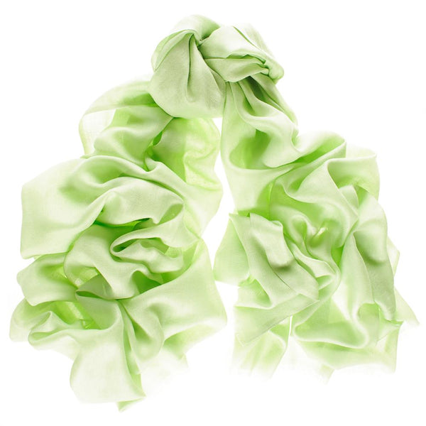 Pastel Green Cashmere and Silk Wrap