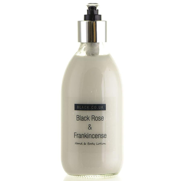 Black Rose and Frankincense Hand and Body Lotion