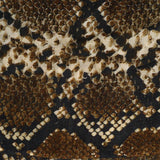 Snake Print Cashmere and Silk Wrap