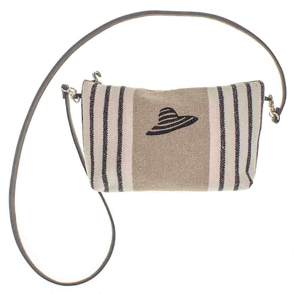 Deauville Linen Shoulder Bag