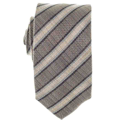 Conza Italian Silk and Linen Tie