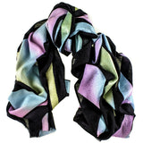 Tulian Hand Painted Silk Applique Cashmere Wrap