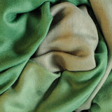 Fern to Moss Cashmere and Silk Scarf